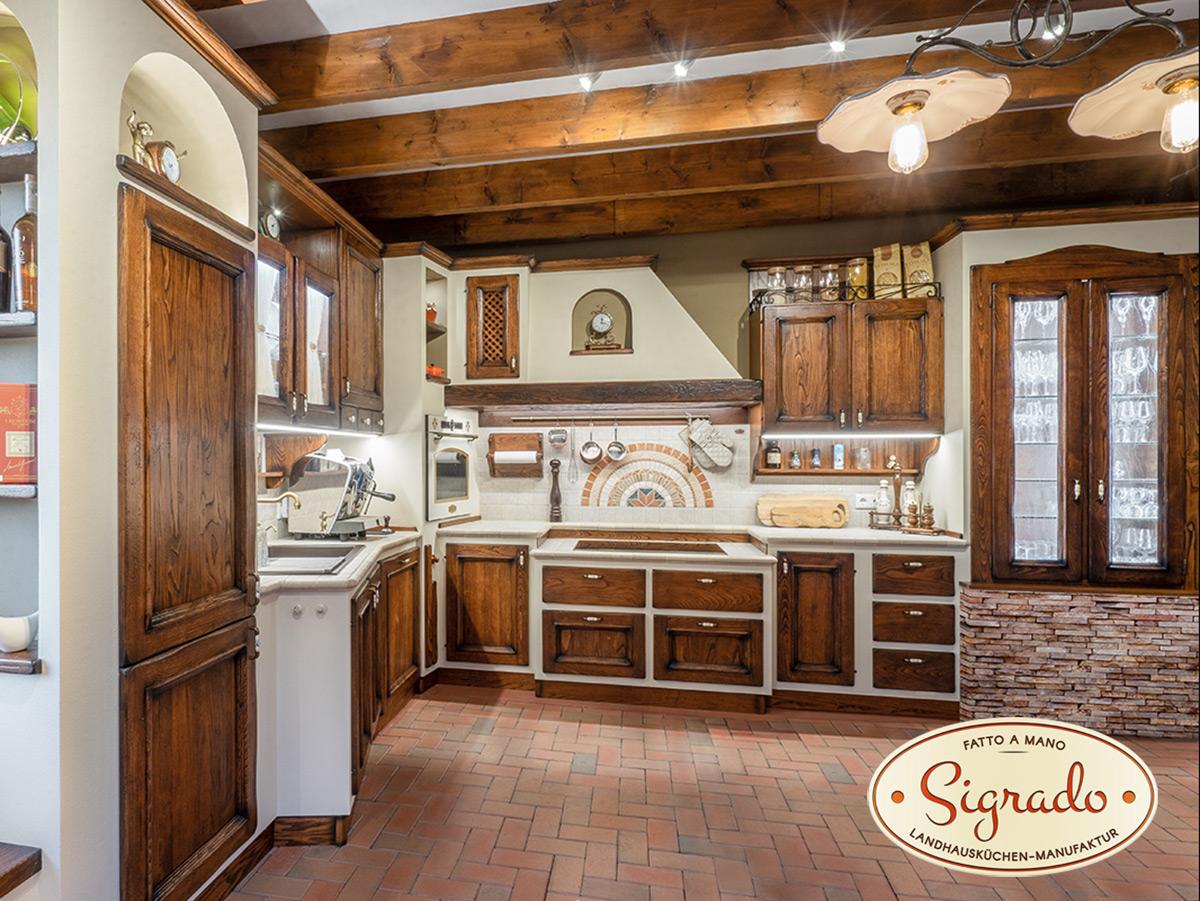 Gemauerte Küchen - Sigrado Landhausküchen - Ihr Premium Hersteller